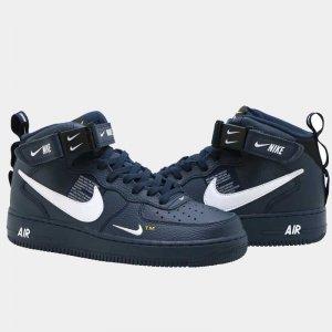bfe62547 ... Мъжки обувки Air Force 1 '07 Mid LV8 'Navy'