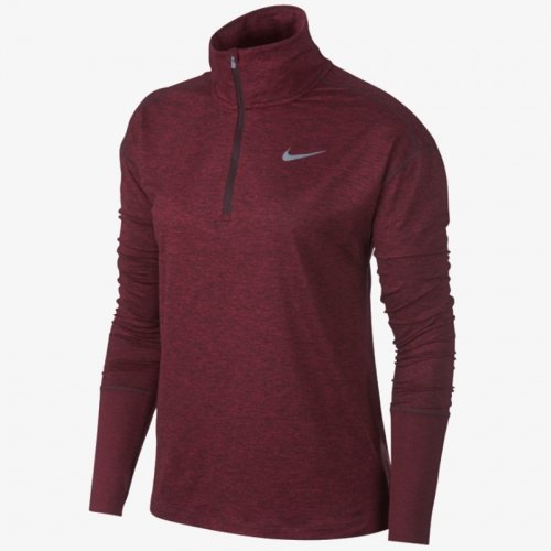 ДАМСКА БЛУЗА NIKE ELEMENT WOMEN'S 1/2-ZIP RUNNING