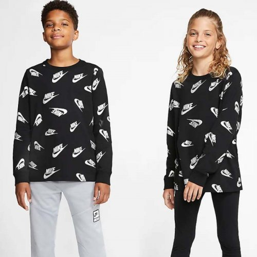 ДЕТСКА БЛУЗА NIKE SPORTSWEAR  OLDER KIDS LONG SLEEVE
