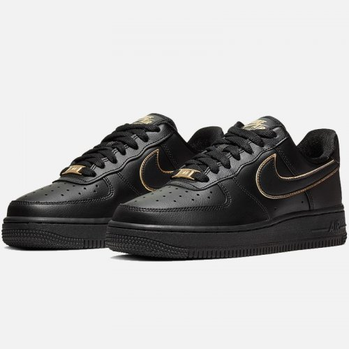 ДАМСКИ ОБУВКИ NIKE AIR FORCE 1 LOW GOLD SWOOSH
